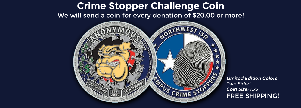 Crime Stopper Challenge Coin
